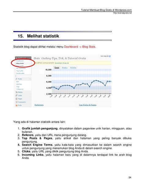 link membuat blog gratis tutorial membuat blog gratis di wordpress com baru