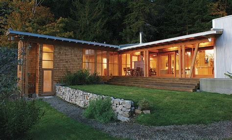 pacific northwest home plans modern and low impact in its most basic form this house illustrates environmentally