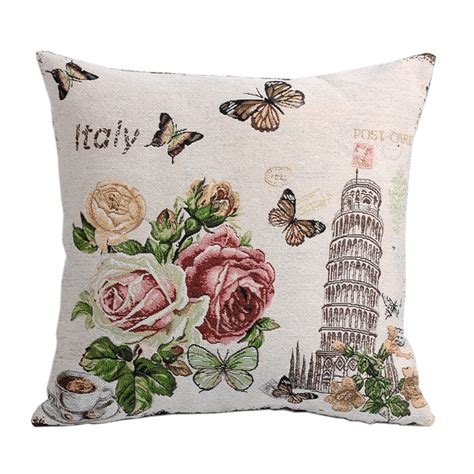 sofa cushion cover designs aliexpress buy leaning tower of pisa sofa cushion