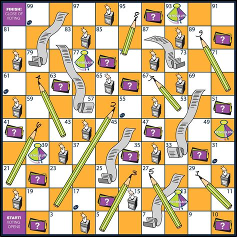 snakes and ladders template pdf printable board template and ladders template pdf