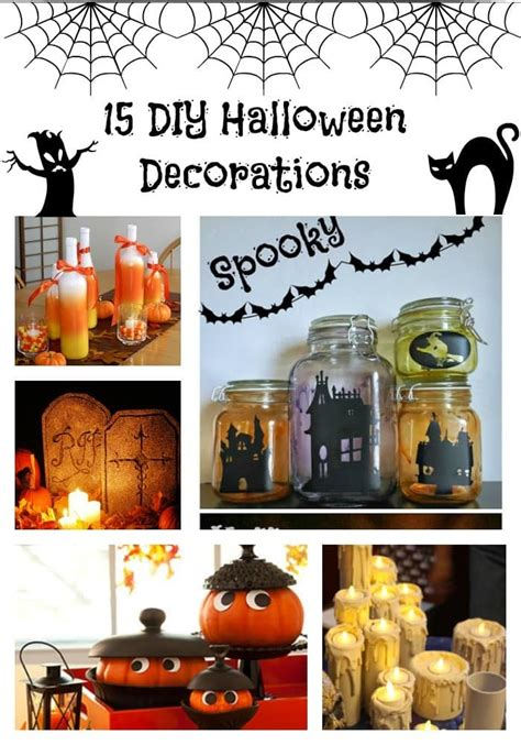 home made halloween decorations diy halloween decorations