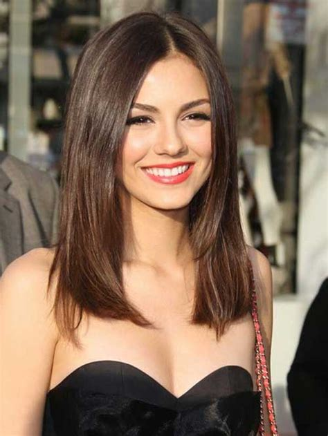 Hair Cut In Medium Size Strait Hairs | 20 medium long length hairstyles hairstyles haircuts