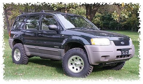 mazda tribute lifted 17 best images about ford escape on 4x4