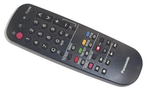 Remote Tv Panasonic panasonic tnq8e0461 tv remote ebay
