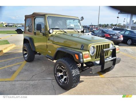 1997 Jeep Wrangler Sport Citron Pearl 1997 Jeep Wrangler Sport 4x4 Exterior Photo