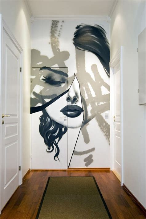 decorating your home wall decor with unique awesome unique wall mural