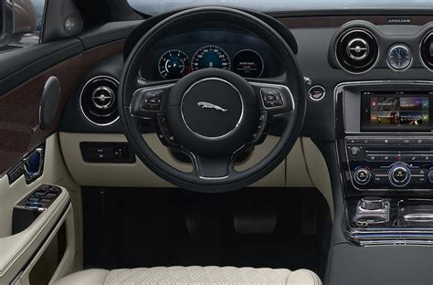 jaguar car inside jaguar xj interior features luxury saloon redefined