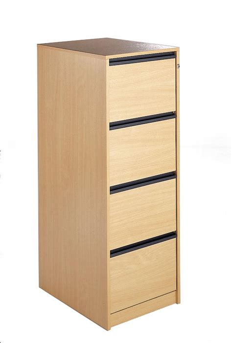 Wooden 4 Drawer Filing Cabinet by Beech Wooden Filing Cabinet 4 Drawer