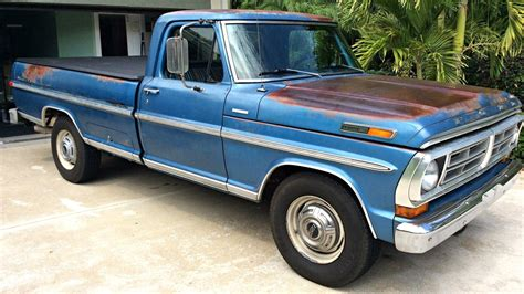 a ford tow ready classic 1972 ford f 250 cer special