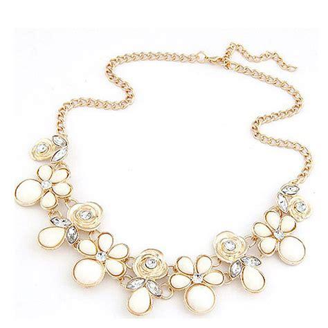 chunky for jewelry new fashion jewelry chain pendant flower choker chunky