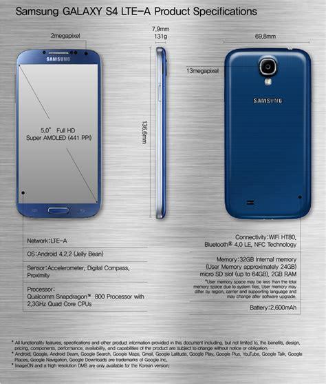 Future Galaxy S4 samsung announces galaxy s4 lte a smartphone