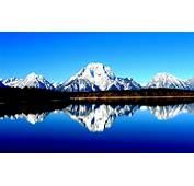 Grand Teton National Park Wyoming Usa Hogh Contrast Hd