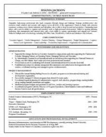 the stylish entry level human resource resume resume