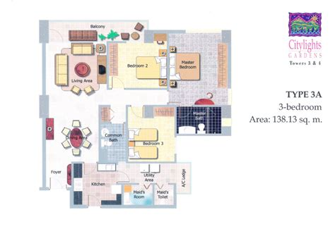 citylights condo floor plan cebu real estate properties citylights gardens nivel