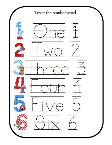 printable tracing alphabet cards 1 6 number tracing sheet google search math ideas