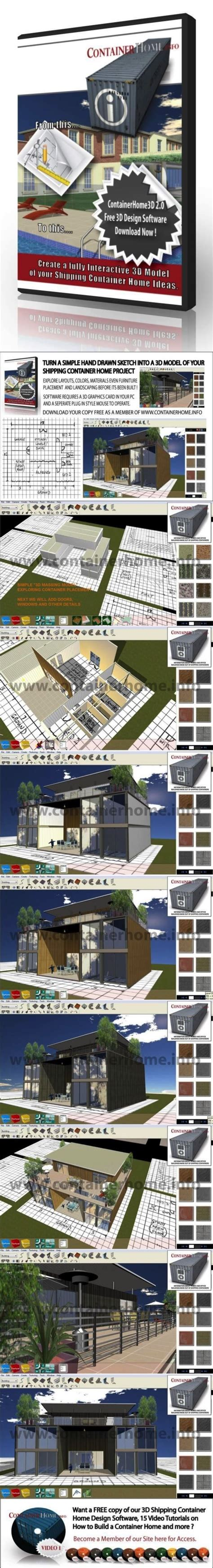 3d container home design software 3d shipping container home design software provided free