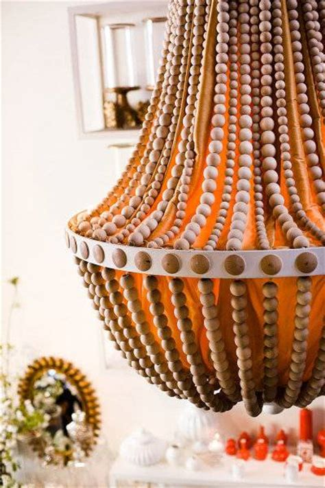 Beaded Home Decor by 35 Ideas For Interior Decorating With Wooden Beads And