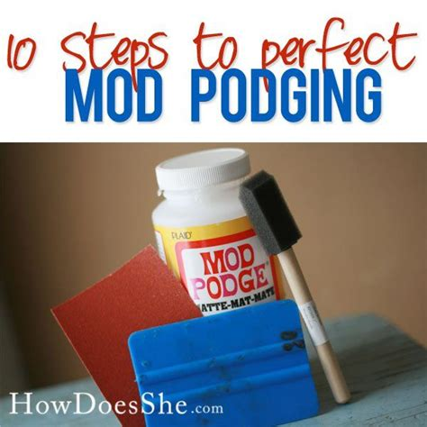 What Is The Difference Between Decoupage And Mod Podge - the 25 best mod podge uses ideas on modge