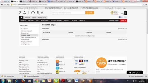Pesanan Gs 1 management information system e commerce pada zalora indonesia