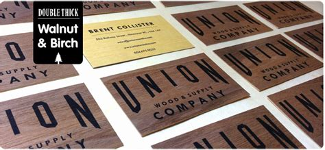 creative names for woodworking business wooden business cards printed wood that looks