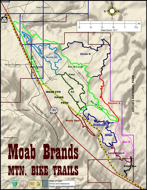 map of moab image gallery moab trails