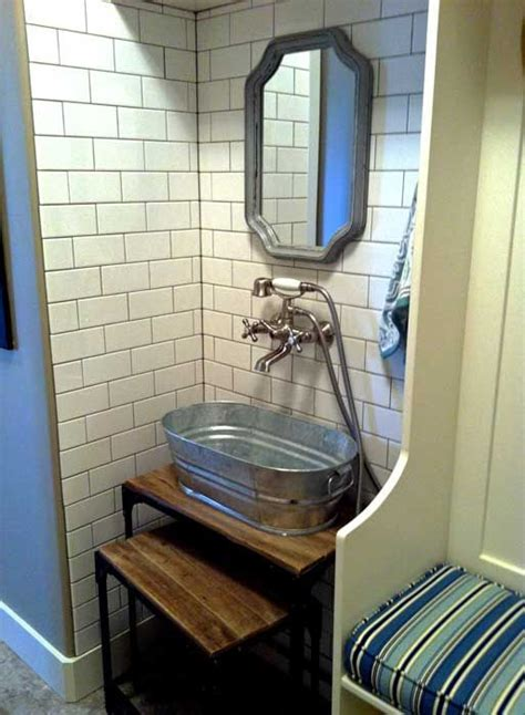 ideas  utility sink  pinterest rustic