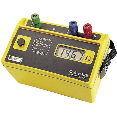 Grounding Meter earth ground meter chauvin arnoux c a 6423 from conrad