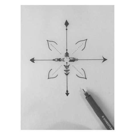 minimalist tattoo compass tatuagens femininas de flecha tatuagem pinterest