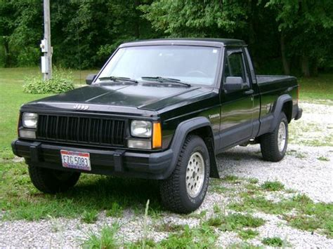 1989 Jeep Comanche Purchase Used 1989 Jeep Comanche Eliminator Standard Cab