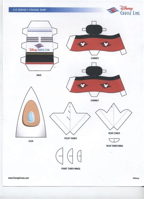 Disney Paper Craft - 17 best images about nautical mickey mouse 3rd birthday on
