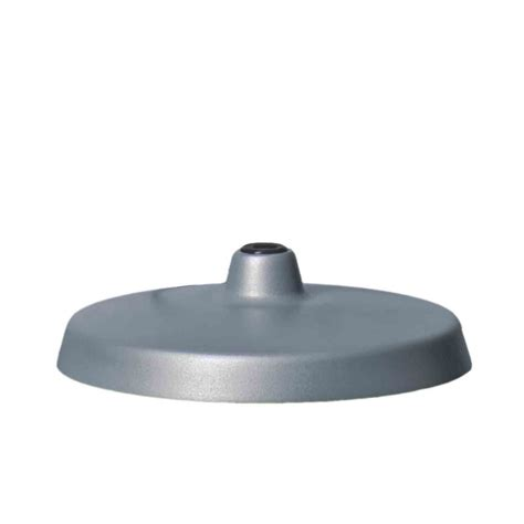 grey table l base luxo base for l 1 archtitect l aluminium grey