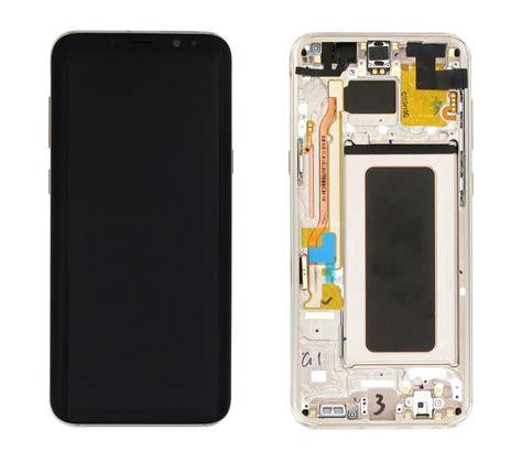 Lcd Samsung S8 samsung g955f galaxy s8 plus lcd display modul gold gh97 20470f gh97 20564f dutchspares