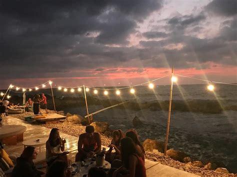 Pebble Beirut Even The Sky Screams Sometimes Whatworksformaya Sunset Angrysky Isla Pebble Bar