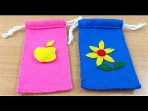 tutorial membuat dompet rajut tutorial membuat pouch dompet hp dari flanel 2 youtube