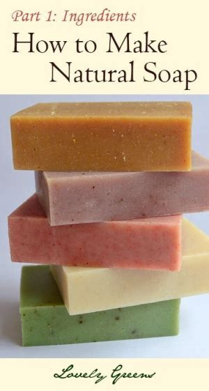 How To Make Handmade Soap Organic - 7 easy steps to lye soap for beginners is an easy