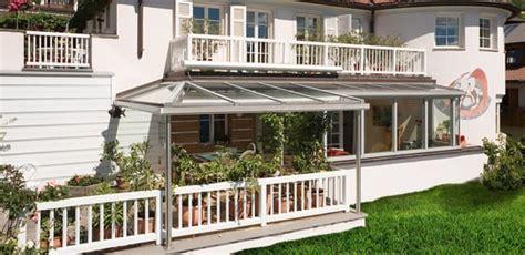 tettoie apribili verande pvc e alluminio balconi a vetro vetrate finstral