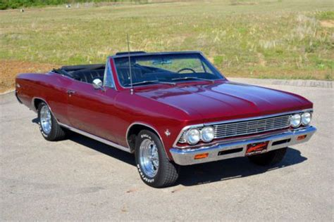 1966 chevy malibu convertible sell used 1966 chevrolet chevelle malibu convertible in