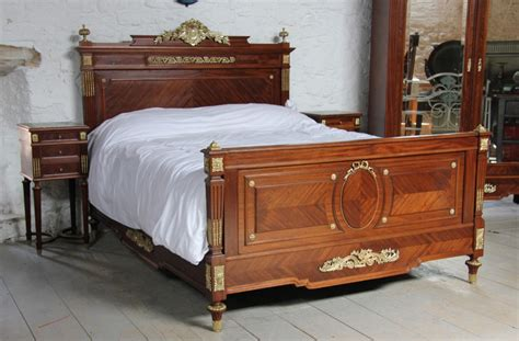 Bedroom Suite With Armoire Louis Xv1 Style Bedroom Suite With King Size Bed And