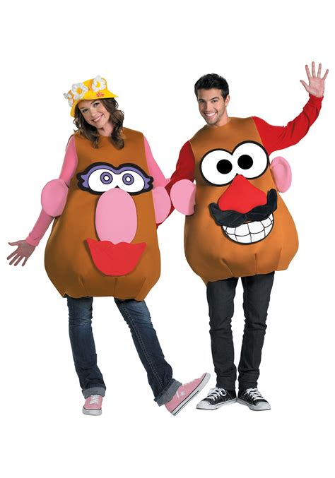 mr mrs potato plus size costume