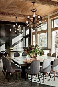 fresh rustic dining room design ideas