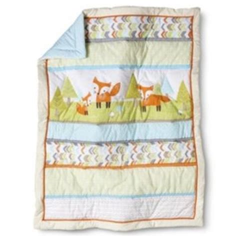 target nursery bedding circo 174 woodland trails 4pc crib bedding from target