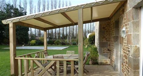 fare una tettoia tettoia in legno fai da te mobili da giardino