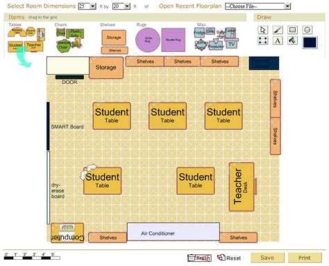 Daycare Floor Plan Creator by Tuesday S Tool Classroom Architect Emints National