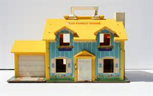 fisher price haus vintage 1969 fisher price play house doll house model 952