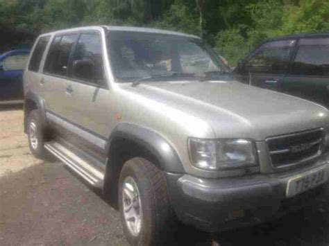 auto air conditioning service 1999 isuzu trooper interior lighting isuzu 1999 trooper citation v6 lwb a silver grey car for sale