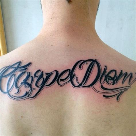 carpe diem tattoo designs for men 70 carpe diem designs for seize the day ink ideas