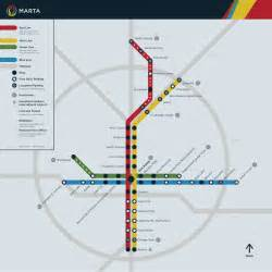 Atlanta Train Map by Submission Unofficial Marta Atlanta Ga Map By