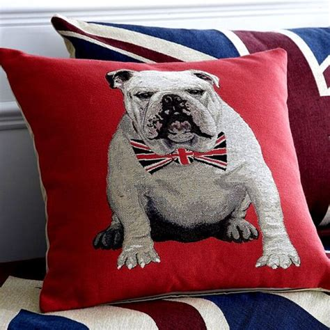 Bulldog Pillow by Bulldog Pillow With Union Bowtie Boy S Rooms