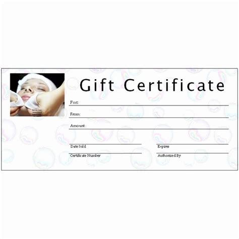 publisher templates for gift certificates free printable gift certificate sle images