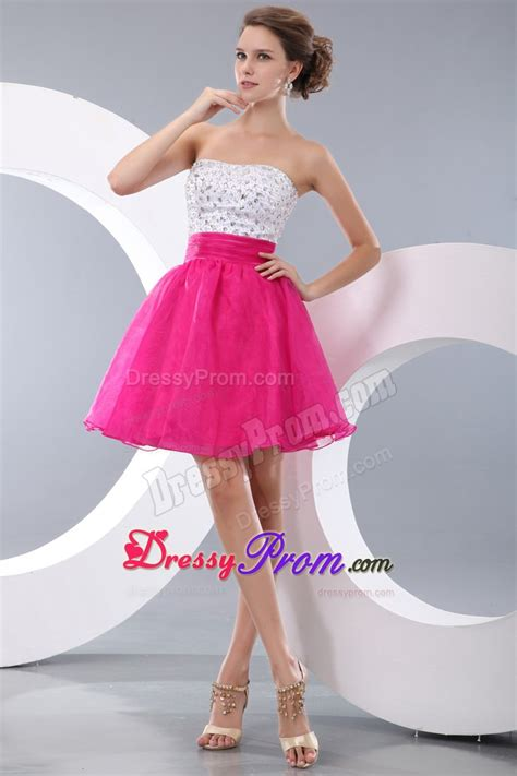 pink and white dress pink and white prom dresses dress ty
